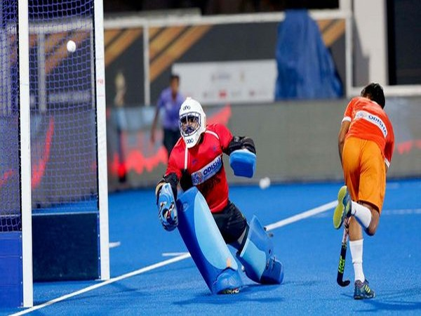Indian goalkeeper PR Sreejesh (Photo/Hockey India Twitter)