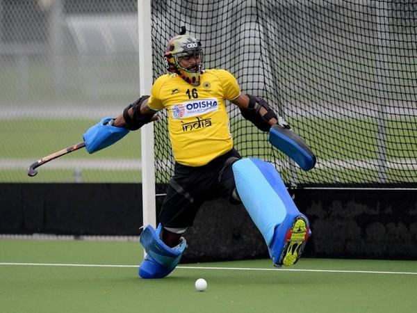 India goalkeeper PR Sreejesh (Photo/Hockey India Twitter))