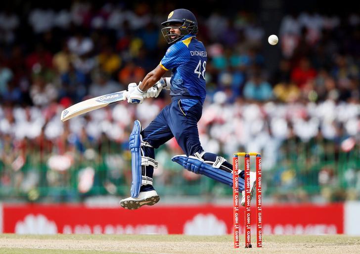 Sri Lanka's Niroshan Dickwella