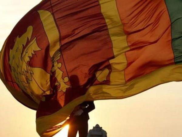 Chinese Project site in Sri Lanka (Photo: Mano Ganesan Twitter)