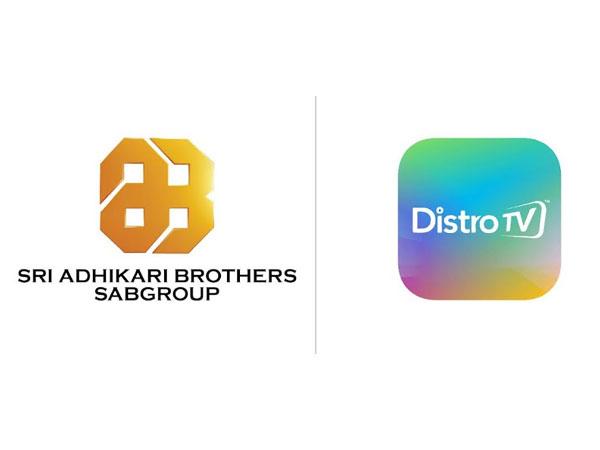 Sri Adhikari Brothers Group partners with DistroTV