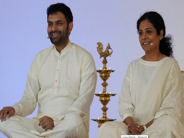 Sri Krishnaji and Sri Preethaji, Co-founders of Ekam