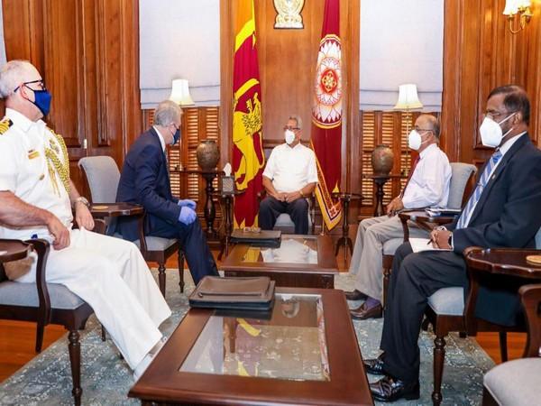 Sri Lankan President Gotabaya Rajapaksa met Australian High Commissioner to Sri Lanka David Holly (Photo Credit: Twitter)