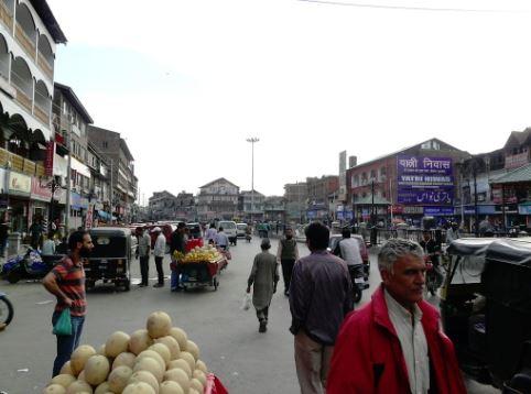 A market in Srinagar, Jammu and Kashmir (Representative Image)