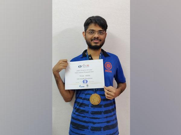Indian chess player Srinath Narayanan (Photo/ Srinath Narayan Twitter)