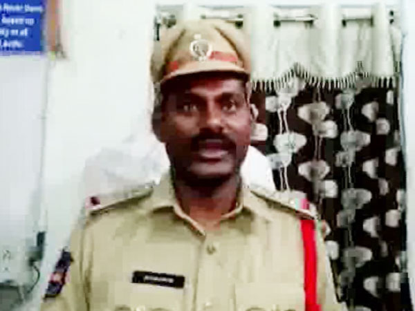 Circle Inspector of Lungerhouse police station Ch Srinivas