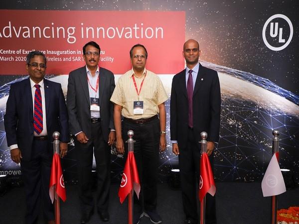 Srinivasa Desikan, Director & BH, UL-SA; K.Hanumanth Rao, DD-G, Regional Telecom Engineering Center, SR; S.Gopalakrishnan, AS, IT Ministry; Suresh Sugavanam, VP & MD, UL- SA&S-S Africa.