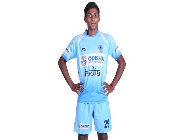 India colts striker S Karthi (Photo/ Hockey India)