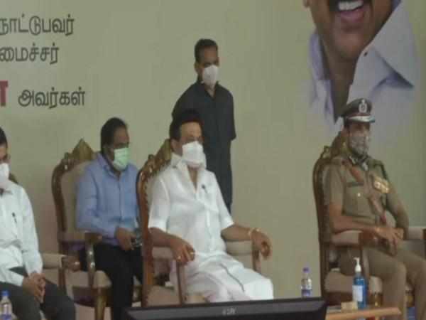 Tamil Nadu Chief Minister MK Stalin. (Photo/ANI)
