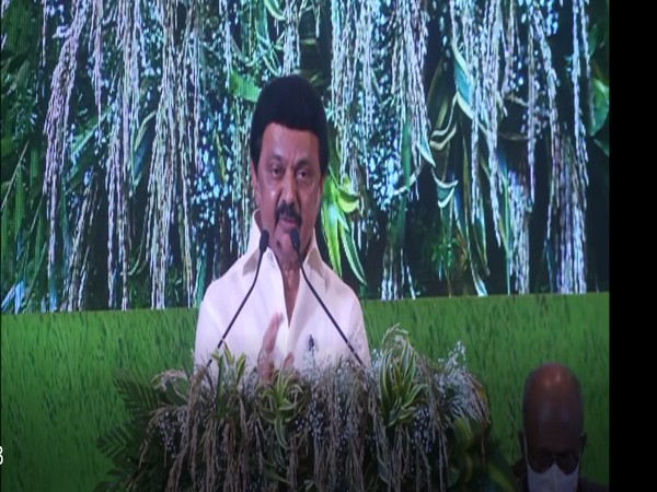 CM MK Stalin addressing the event in Chennai (Photo/ANI)