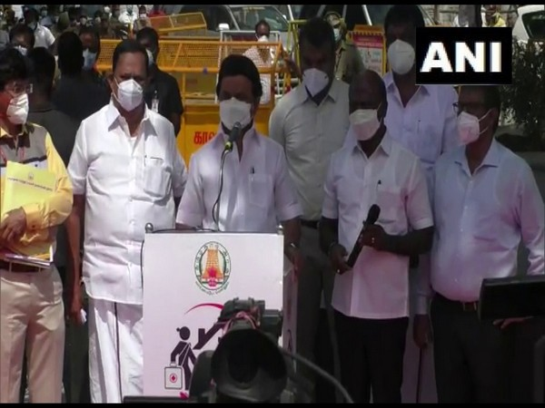 Tamil Nadu Chief Minister MK Stalin (Photo/ANI)