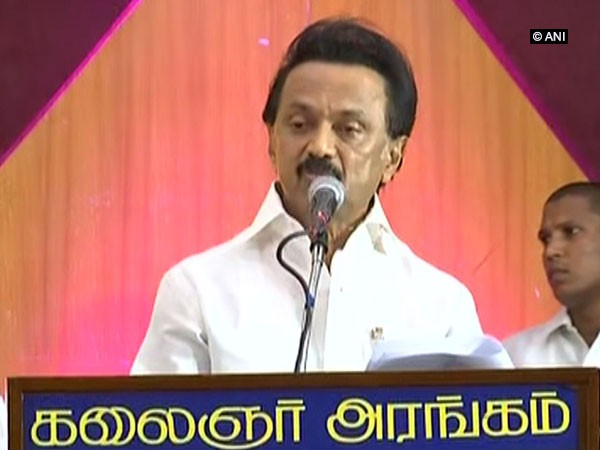 DMK chief MK Stalin. File photo/ANI