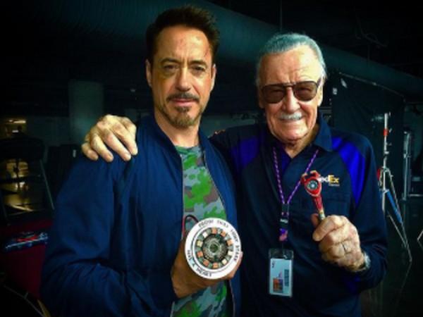Robert Downey Jr. with late Marvel legend Stan Lee (Image Source: Instagram)