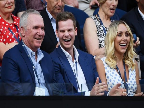 Australian cricket Steve Smith (Photo/ Australian Open Twitter)