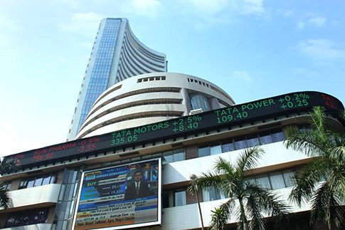 Sensex  jumps 313 points to 36,984 in early trading on Monday
