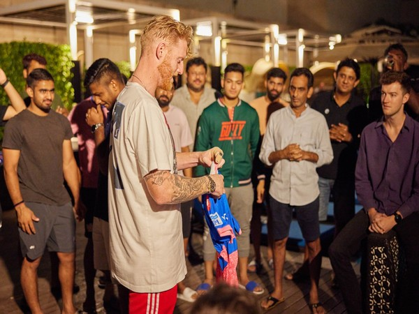 Rajsthan Royals all-rounder Ben Stokes (Photo/ Rajasthan Royals Twitter)