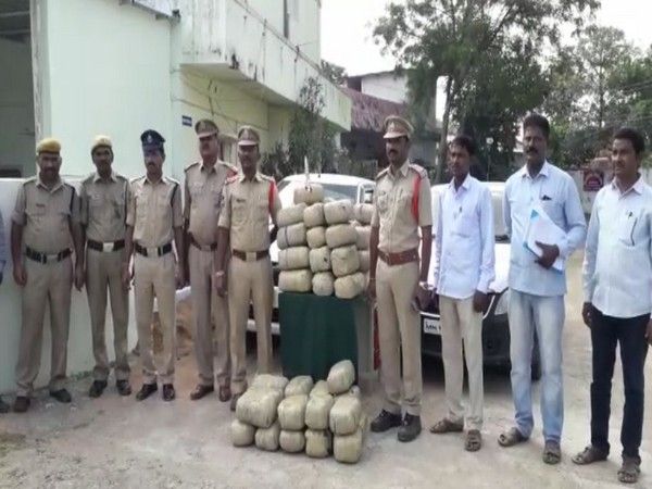 The police seized 140 kg of ganja from two vehicles in Adilabad on Sunday.
