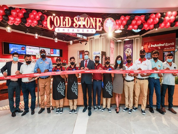 Store Launch of Cold Stone Creamery at Express Avenue Mall, Chennai