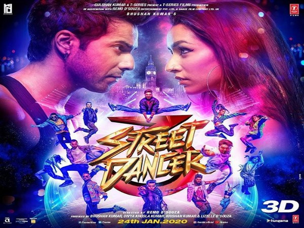 'Street Dancer 3D' witnesses descent business, mints Rs 10.26 crore on opening day