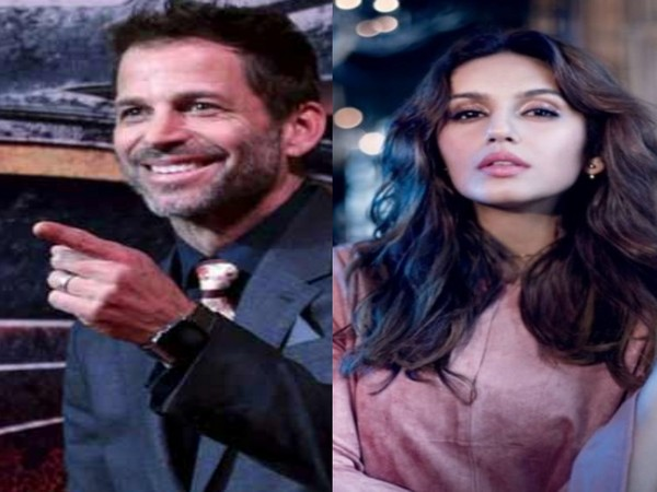 Zack Snyder and Huma Qureshi