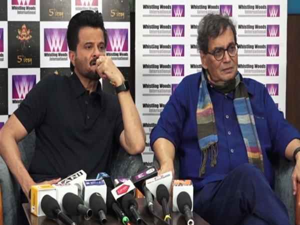 Anil Kapoor and Subhash Ghai