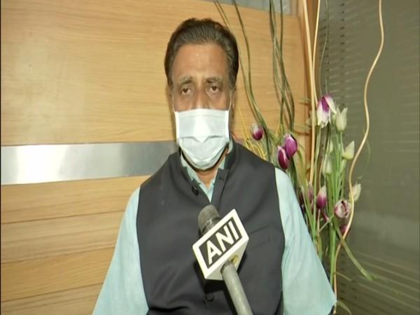 Telangana BJP leader NV Subhash speaking to ANI on Friday. (Photo/ANI)