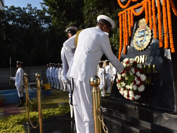 On 52nd Submarine Day, wreath-laying ceremony held at INS Virbahu in Visakhapatnam, Andhra Pradesh.