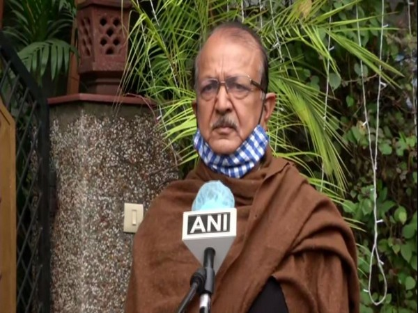 BSP leader Sudhindra Bhadoria speaking to ANI in New Delhi on Wednesday.