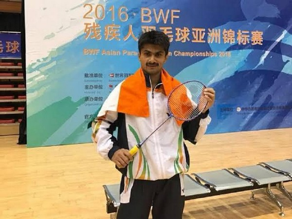 Para-badminton player Suhas L. Yathiraj
