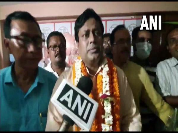 West Bengal BJP chief Sukanta Majumdar (File pic)