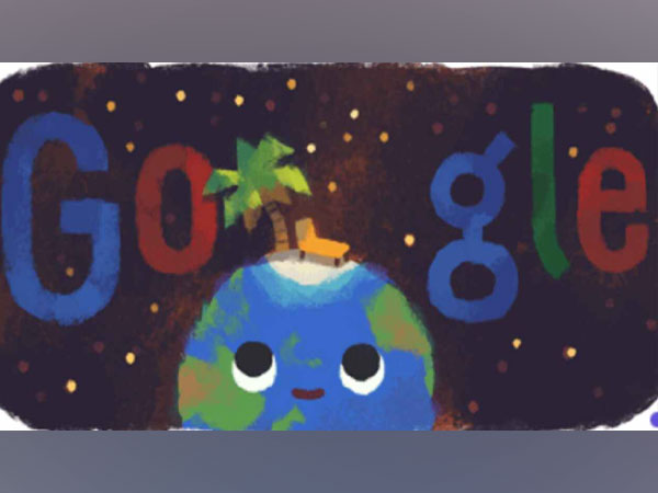 Google Doodle marking the start of summer in Northern Hemisphere