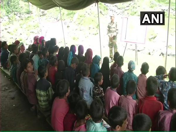 J-K: 40 Rashtriya Rifles running summer school for children of Gujjars and Bakerwals in Dhoke