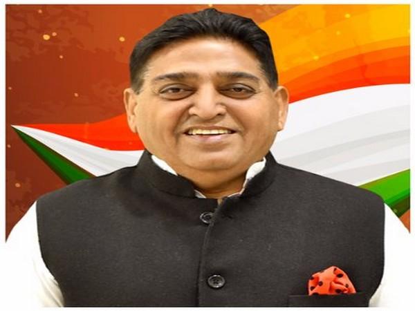 Punjab Industries and Commerce Minister Sunder Sham Arora. [Photo/ANI]