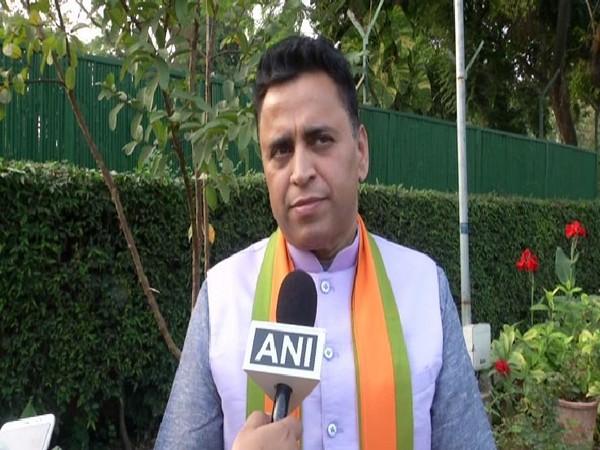 BJP national secretary Sunil Deodhar speaking to ANI in New Delhi on Friday. Photo/ANI
