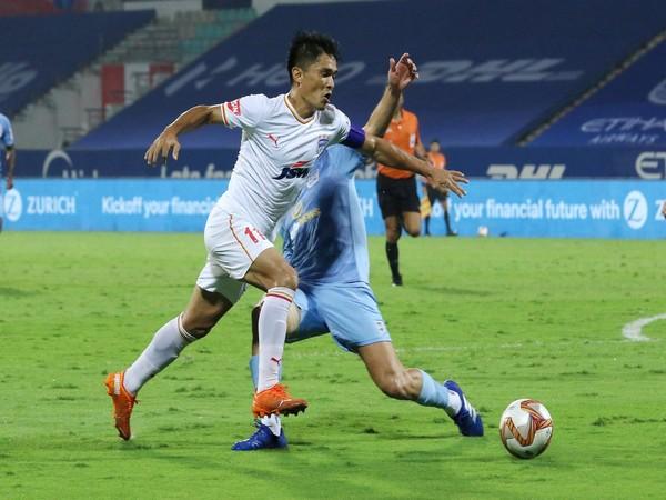 Bengaluru FC skipper Sunil Chhetri (Photo/ ISL)