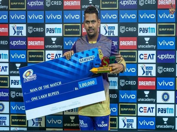 KKR bowler Sunil Narine (Image: KKR twitter)