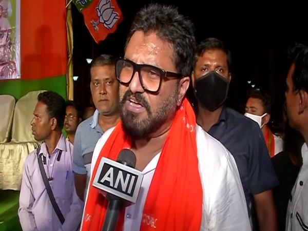 BJP leader Babul Supriyo speaking to ANI on Tuesday (Photo/ANI)