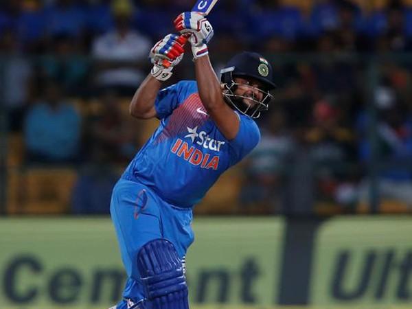 Indian cricketer Suresh Raina
