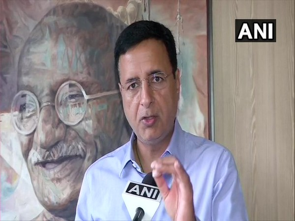 Congress General Secretary, Randeep Singh Surjewala. (File photo)