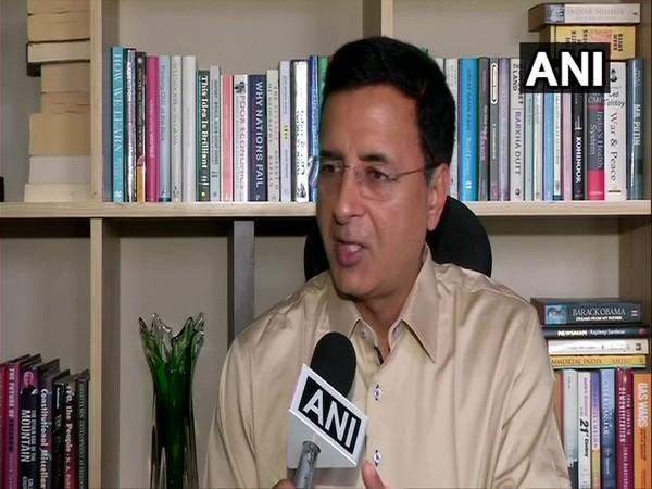Congress spokesperson Randeep Surjewala (File Pic)