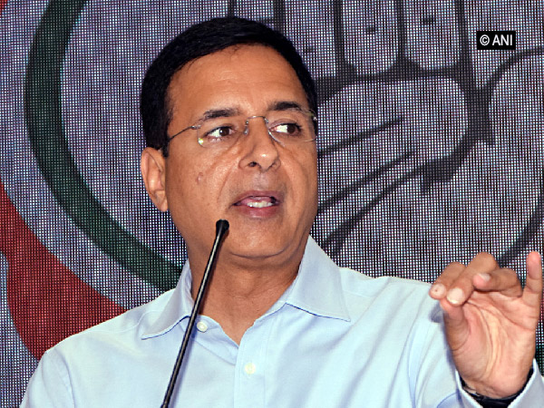 Congress spokesperson Randeep Singh Surjewala (File photo)