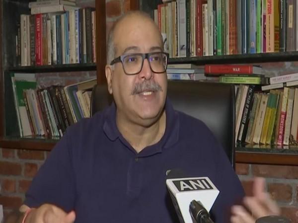 Foreign expert Sushant Sareen. (Photo/ ANI)