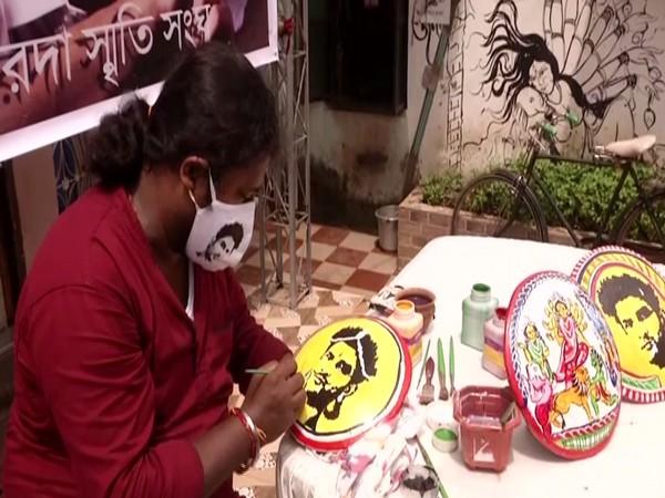 Kolkata artist Manash Rai speaking to ANI about Sushant Singh Rajput's tribute.