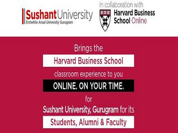 Sushant University collaborates with Harvard Business School Online