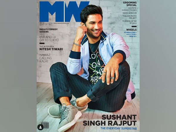 Sushant Singh Rajput on MW cover (Image Courtesy: Instagram)