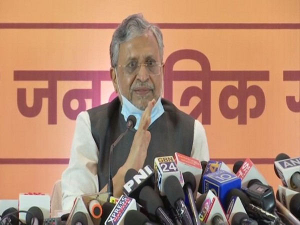 Bihar Deputy Chief Minister Sushil Kumar Modi (Photo/ANI)