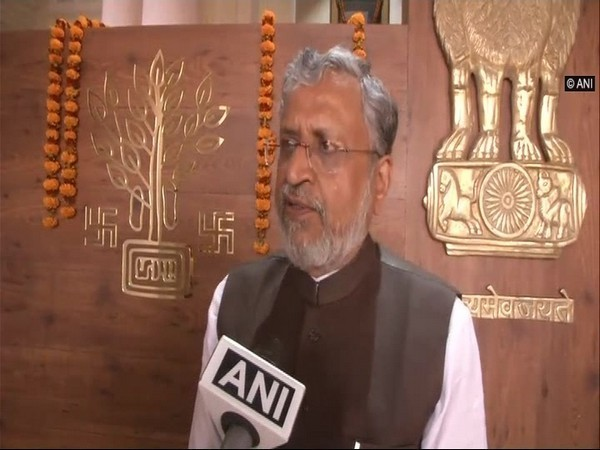 BJP leader and Bihar's Deputy Chief Minister Sushil Modi