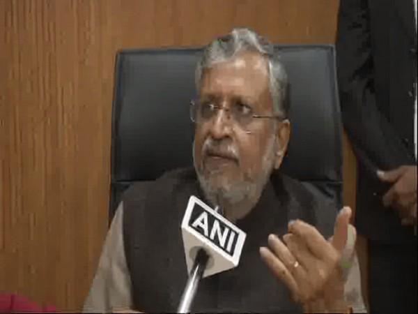 BJP leader and Bihar Deputy Chief Minister Sushil Kumar Modi