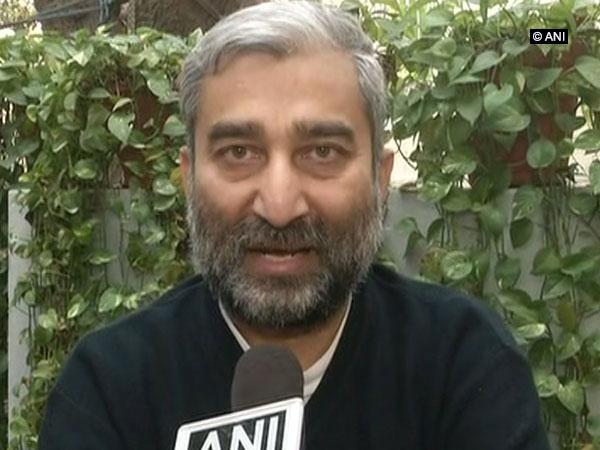 Jammu and Kashmir activists Sushil Pandit (ANI Photo)