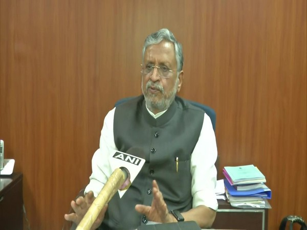 Bihar Deputy Chief Minister Sushil Modi (File Photo/ANI)